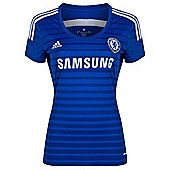 2014-15 Chelsea Adidas Womens Home Shirt - Blue