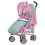 Obaby Atlas V2 Stroller & Footmuff, Cottage Rose