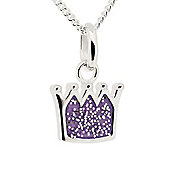 Truth Cutie Kids Glitter Crown Pendant