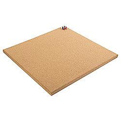 Tesco Frameless Corkboard 40x40cm