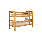 Elan Beds Pavo Bunk Bed Frame in Pine or White - Pine