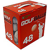 Replay Mens Mixed Grade C Golf Balls (Box of 48)