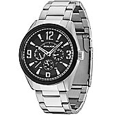 Police Atlanta Mens Stainless Steel Chronograph Watch 13894JSSB-02M