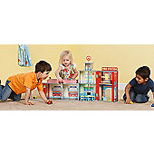 Plum Ingham Fire Station Wooden Play Set with Accessories