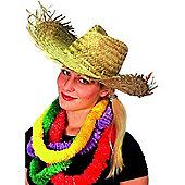 Straw Hawaiian / Beachcomer Hat
