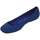 Dylon Suede Shoe - Navy Blue 1