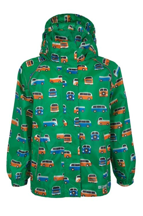 Kid's Printed Pakka Waterproof Jacket