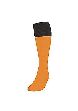 Precision Training Turnover Football Socks - Yellow