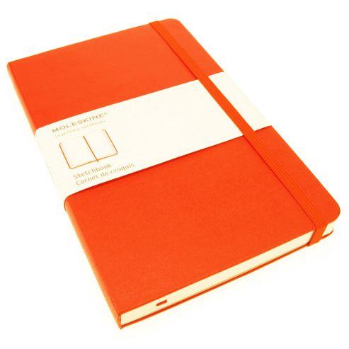 Moleskine Large Sketchbook Red Cover