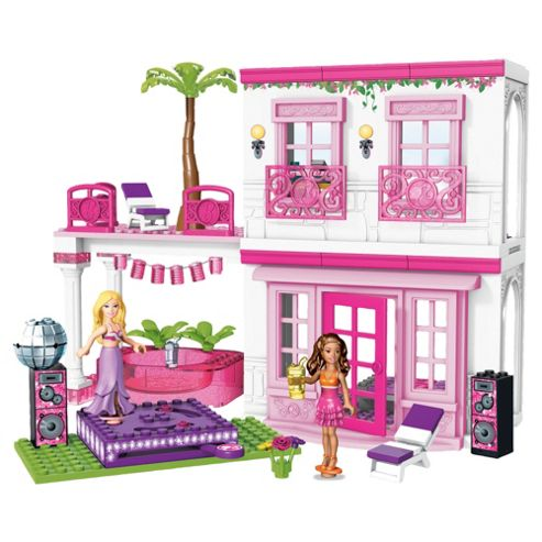 Mega Bloks Barbie Build N Style Beach House