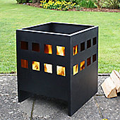 La Hacienda Novo Fire Basket in Black