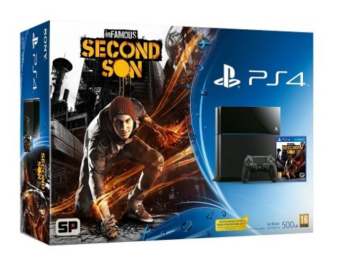 PS4 InFamous Second Son Hardware Bundle