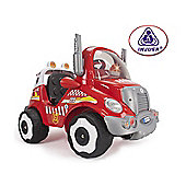 Injusa Fire Truck Battery Operated Ride-On with Lights & Sounds