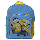 Despicable Me 2 Backpack With Pockets Pushing Minions