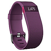 Fitbit Charge HR, Plum, Small