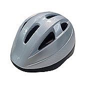 Kids Helmet Silver 48-52cm