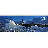 Lighthouse Le Creach - Panoramic 1000pc Puzzle