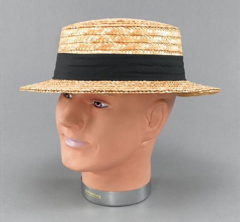 Straw Boater.