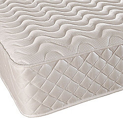 Comfy Living 3ft Single Damask Orthopaedic Mattress