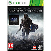 Middle Earth: Shadow of Mordor UK Xbox 360