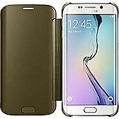 Samsung Carrying Case (Flip) for Smartphone - Gold