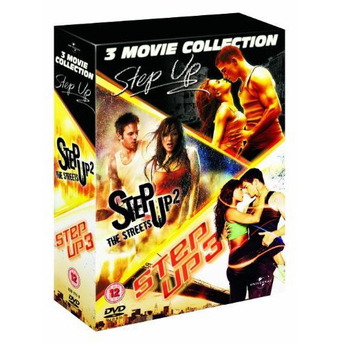 Step Up 1-3 (DVD Boxset)