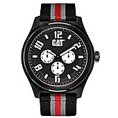 CAT Track Mens Fabric Day & Date Seconds Sub Dial Watch PP.169.68.132