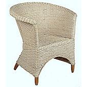 Desser Iris Occasional Chair - White wash