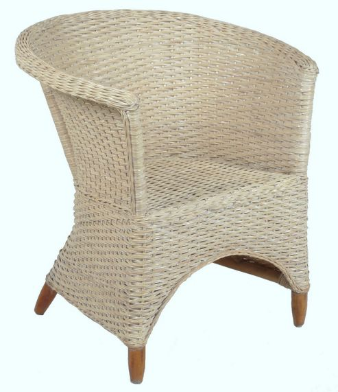 Desser Iris Occasional Chair - White wash