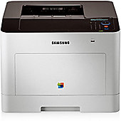 Samsung CLP-680DW A4 Colour Laser Printer Up to 24ppm Print Speed Mono / Colour Automatic Double Sided Printing 250 Sheet Input Tray 1 Year Warranty