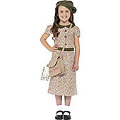 Evacuee Girl - Child Costume 4-6 years
