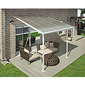 Palram Feria Lean To Carport And Patio Cover 3X3 White