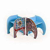 Fairytale Furniture Zawadi the Elephant Doll Sized Double Toy Chair