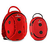 LittleLife Animal Toddler Daysack and Lunch Pack Ladybird