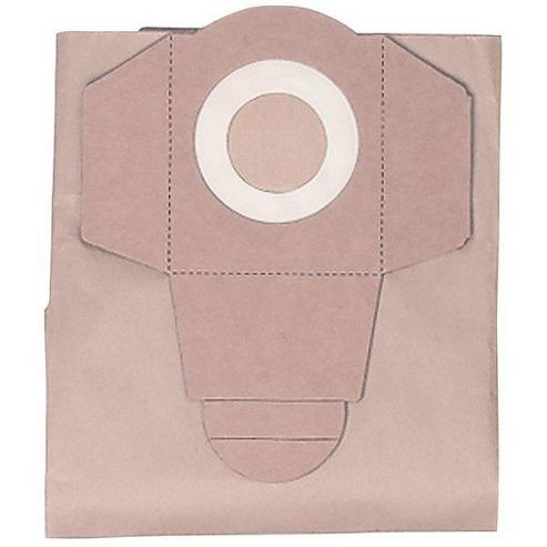 Einhell Dust Bags For Inox 1250 Vacuum Ein2351152 - pack of 5