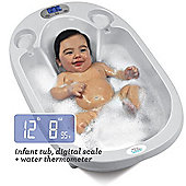 Aquascale 3-in-1 Digital Baby Bath