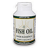 Cytoplan Fish Oil: High Potency 120 Capsules