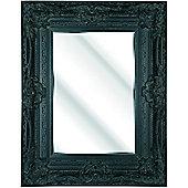 D & J Simons Brecon Mirror - Black - 108cm H x 82.6cm W