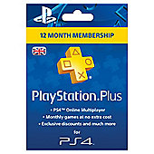 PlayStation Plus Card 1 Year Subscription