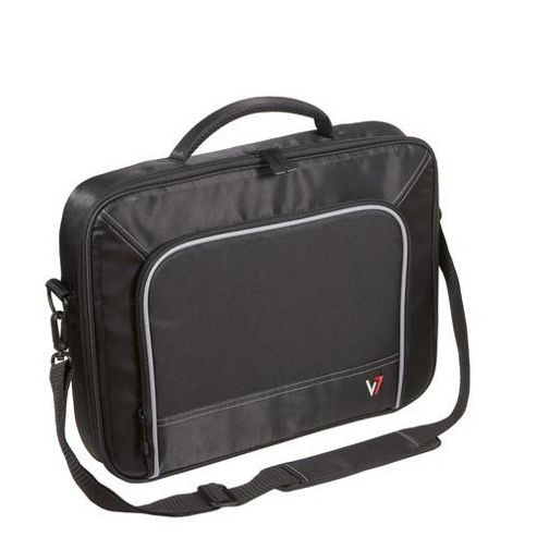V7 CCP4-9E Professional Frontloader 13 inch Laptop Case (Black)
