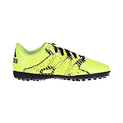 adidas X15.4 TF Astro Turf Junior Kids Football Shoe Trainer Yellow - UK 5.5