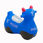 Happy Hopperz Blue Police Bike