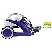 Hoover Curve CU81CU11001 Cylender Bagless Vacuum Cleaner, A Energy Rating