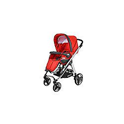 Bebecar Ip-Op Chrome Rosso Pushchair