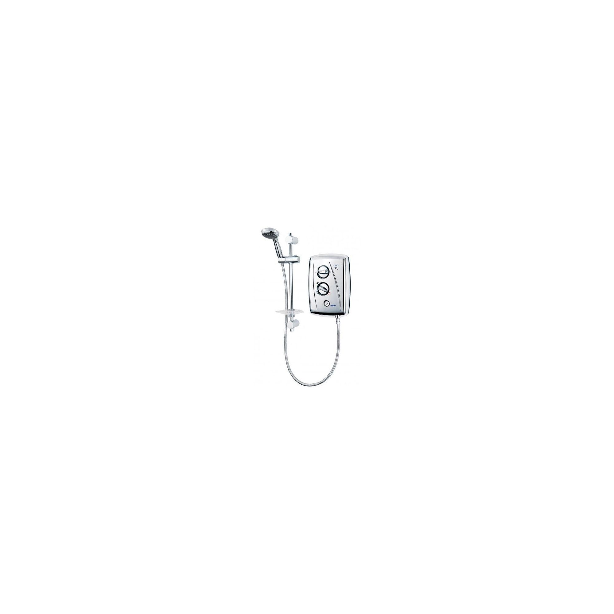 Triton T80Z Fast-Fit Electric Shower Chrome 9.5 kW at Tesco Direct