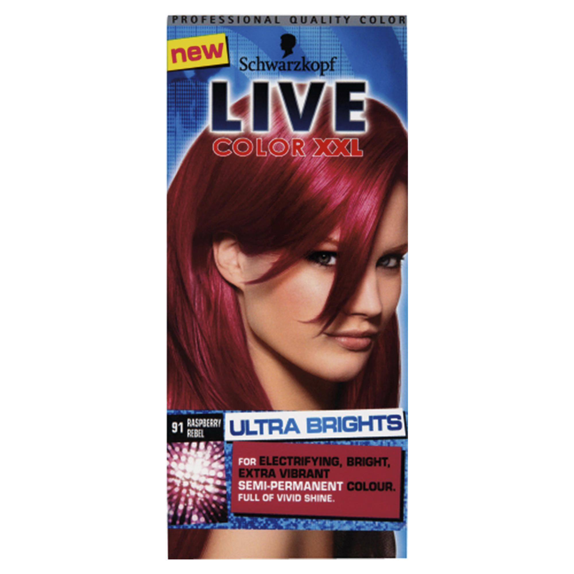 Schwarzkopf LIVE Color XXL Ultra Brights 91 Raspberry Rebel