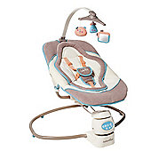 Babymoov 360 Motion Baby Swing in Brown & Blue