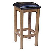 Oakinsen Leo Bycast Leather Seat Bar / Kitchen Stool