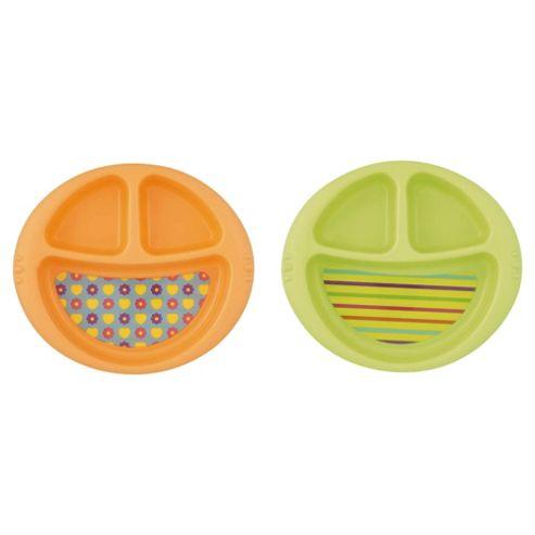 Tesco Loves Baby Divided Plate - Unisex