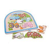 Bigjigs Toys Farm Arched Puzzle